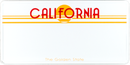 US-Schild California